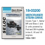 Mercruiser Stern Drives 1964-1991 instrukcja